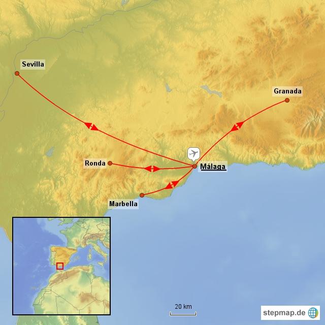 B T Touristik Spanien Traumhaftes Andalusien Nr 141647