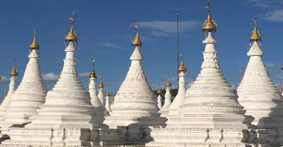 Sandamuni-Pagode in Mandalay