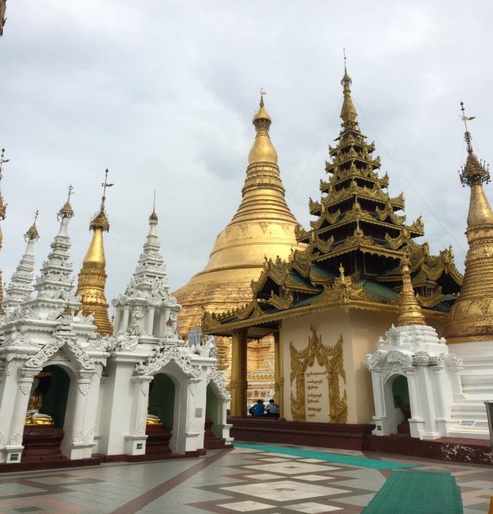 Shwedagon-Pagode in Yangon