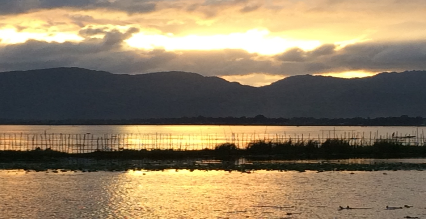 Sonnenuntergang am Inle-See