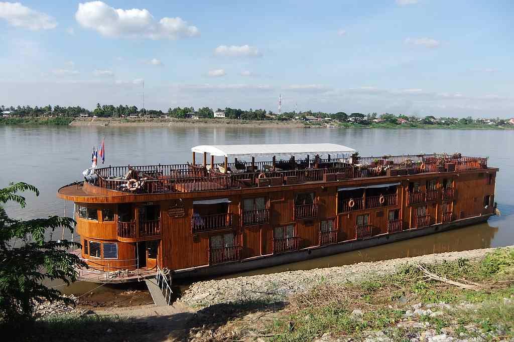 mit Gebeco auf der Mekong Explorer
