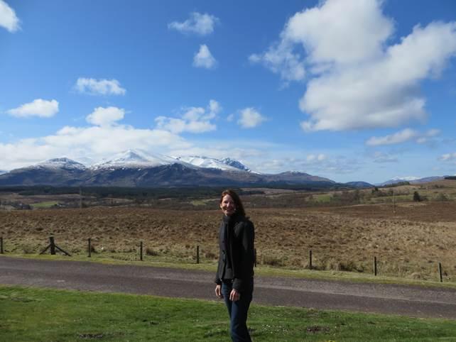 Fahrt über die Highlands