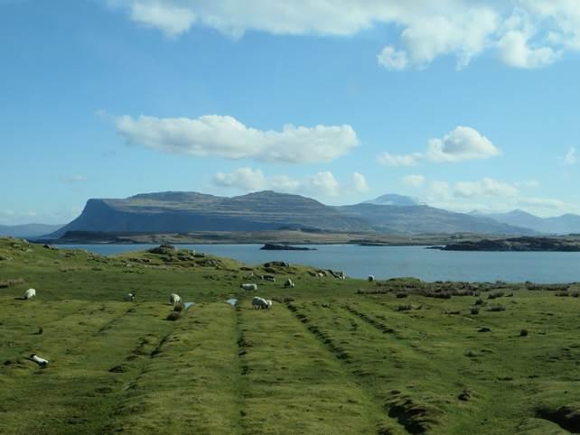 auf der kleinen Insel Iona