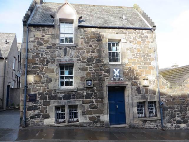 typisches Steinhaus in  Stirling