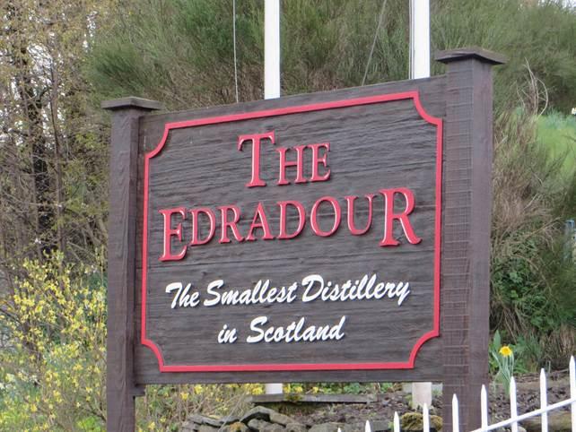 Destillerie Schottlands-Edradour