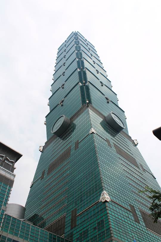 Tower 101 in Taipeh