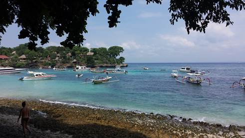 Insel Nusa Lembongan