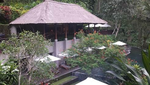 Spa-Bereich des Maya Ubud Hotels