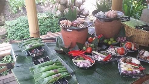 Zutaten für den balinesischen Kochkurs