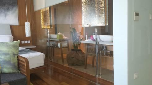 Komfortable Zimmer des Maya Sanur Hotels