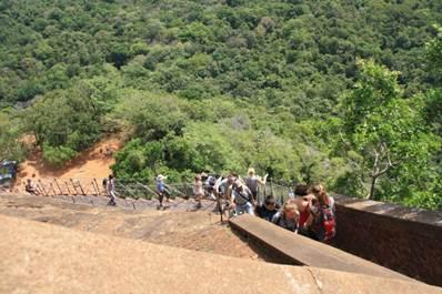 Sigiriya-Felsen (Löwenfelsen)