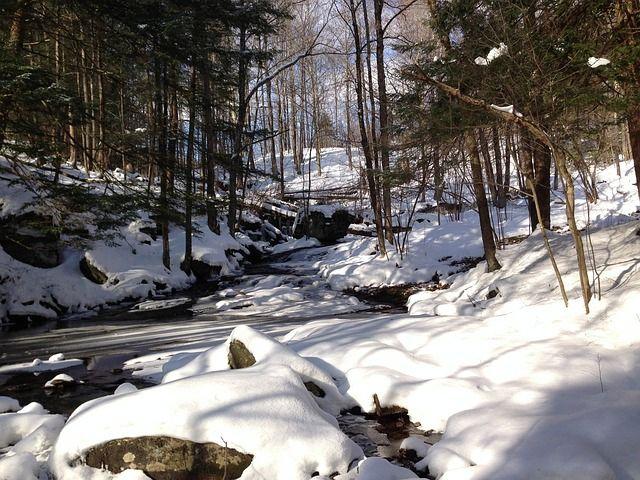 Catskill Landschaft Winter