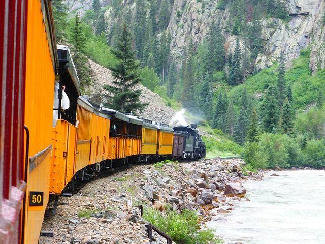 Durango Dampfzug Colorado Silverton