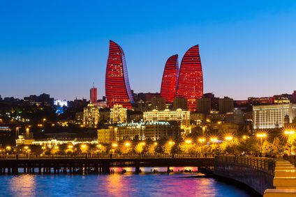 Flame Towers Baku Aserbaidschan