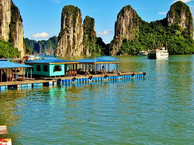 Ha Long Bucht Vietnam