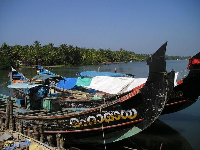 Kerala - Boote