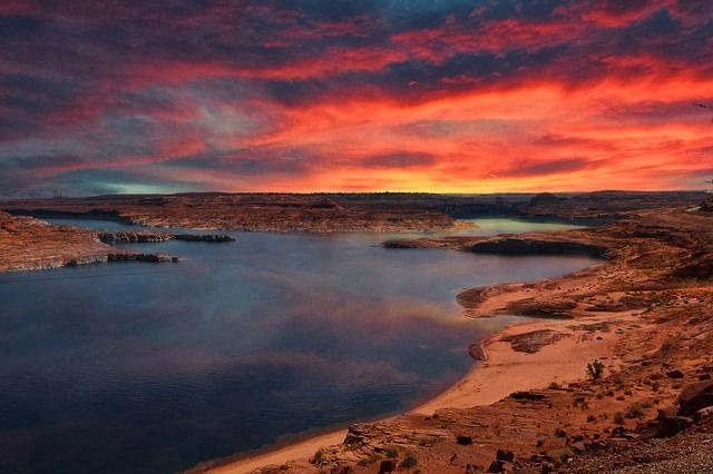 Lake Powell Sonnenaufgang
