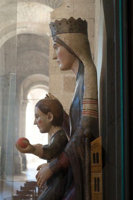 Montalcino - Madonna mit Kind