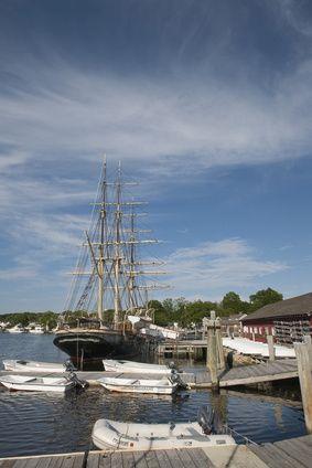Historischer Hafen Mystic