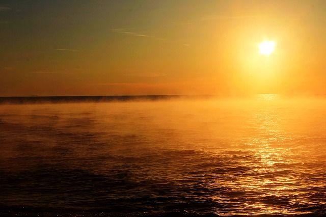 Oberer See Sonnenuntergang