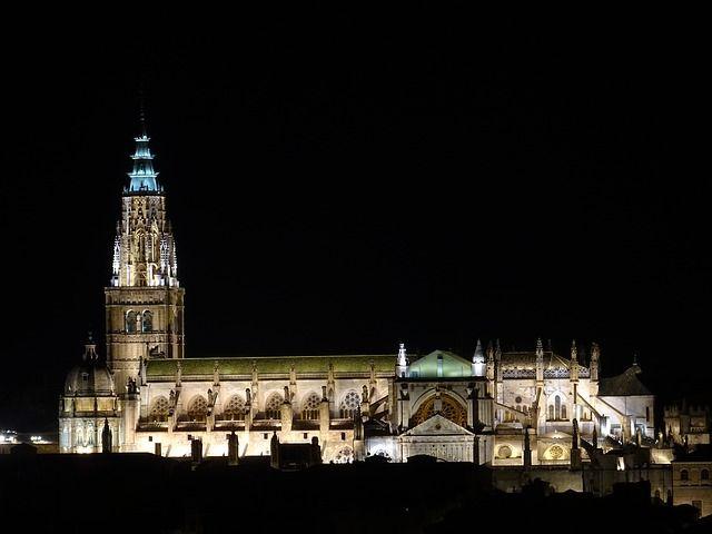 Toledo Kathedrale bei Nacht