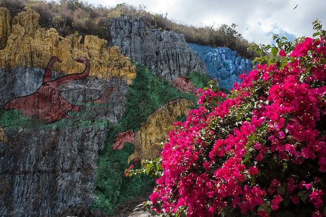 Mural de la Prehistoria - Kuba - Valle de Vinales