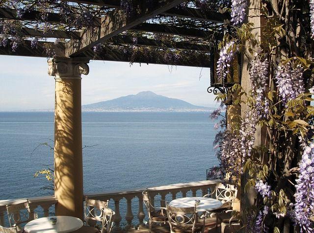 Vesuv - Blick vom Golf von Neapel