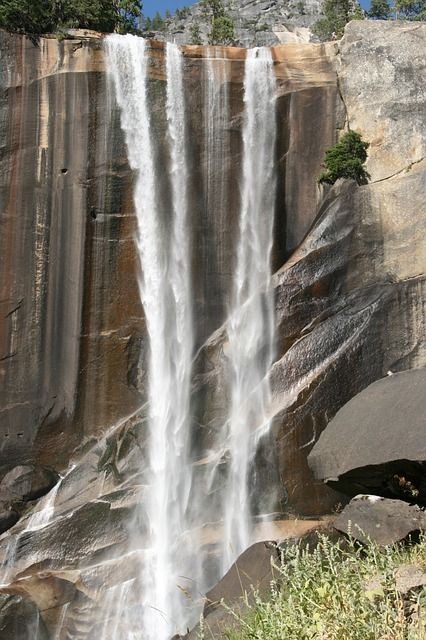 Yosemite Nationalpark Wasserfall